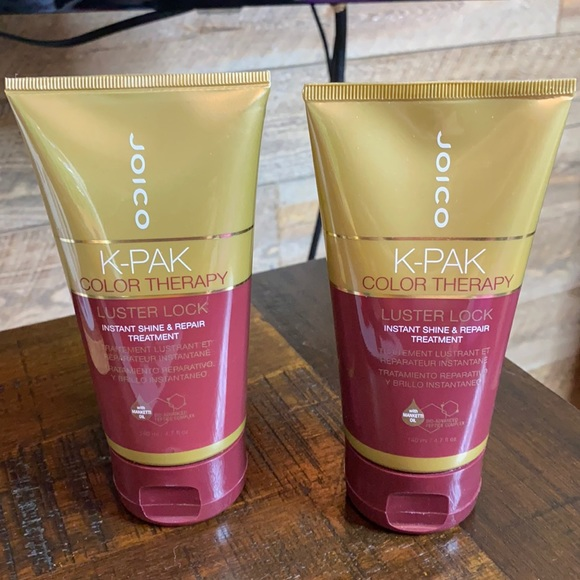 (2)New Joico K-pak Color therapy deep conditioner